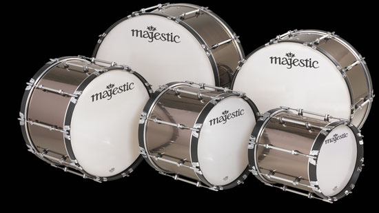 Majestic Marching Bass Drums